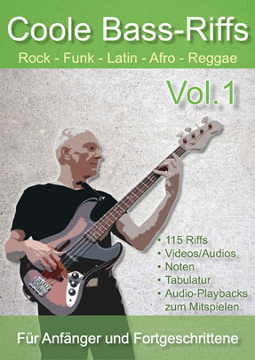 Coole Bass-Riffs Vol.1