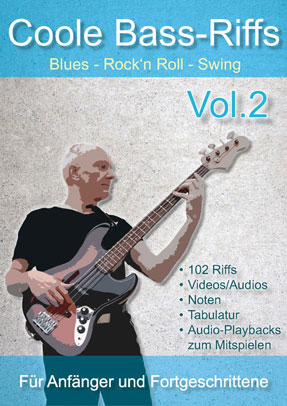 Coole Bass-Riffs Vol.2